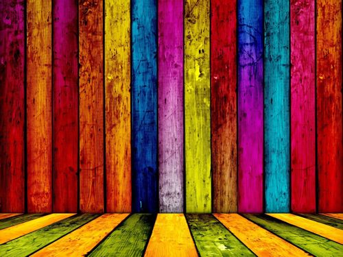 Colorfully creative