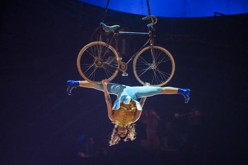 MONTREAL, QUE.: APRIL 30, 2014 -- Artists perform during the Cirque du Soleil show Kurios - Cabinet of Curiosities at the Cirque du Soleil tents in Montreal on Wednesday, April 30, 2014. (Dario Ayala / THE GAZETTE)